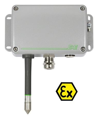 E+E uutuus – EE100Ex kosteus- ja lämpötilalähetin Atex-tiloihin